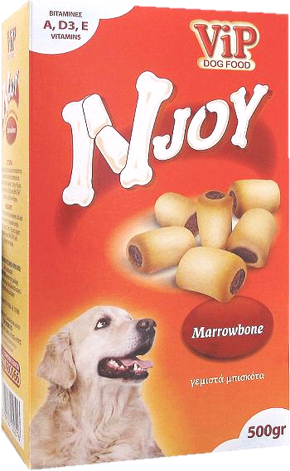 ViP Njoy Dog snacks Marrowbone 500gr Image