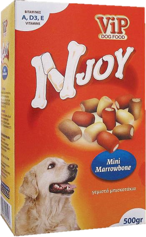 ViP Njoy Mini Marrowbone snacks 500gr Image