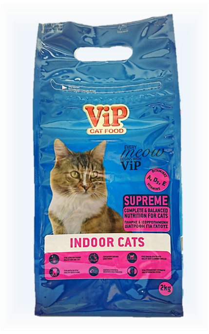 ViP Cat Dry Food 2kg - Indoor / Sterilized formula Image